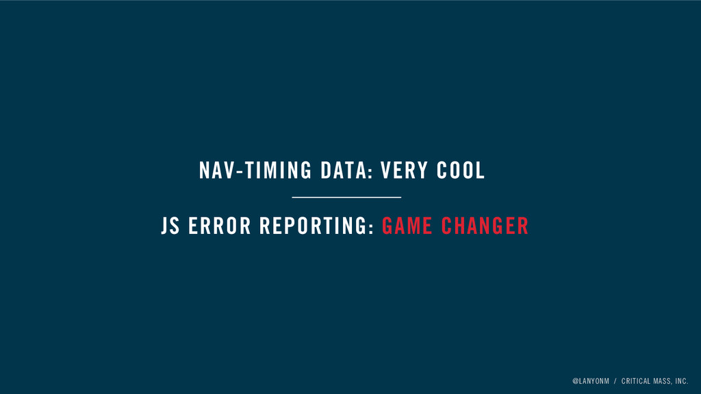 @LANYONM / CRITICAL MASS, INC. NAV-TIMING DATA:...