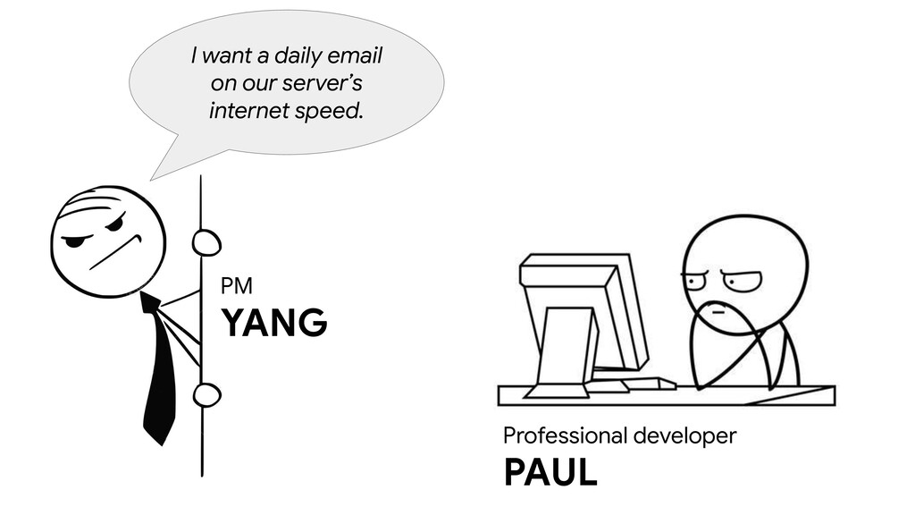 PM YANG I want a daily email on our server's in...