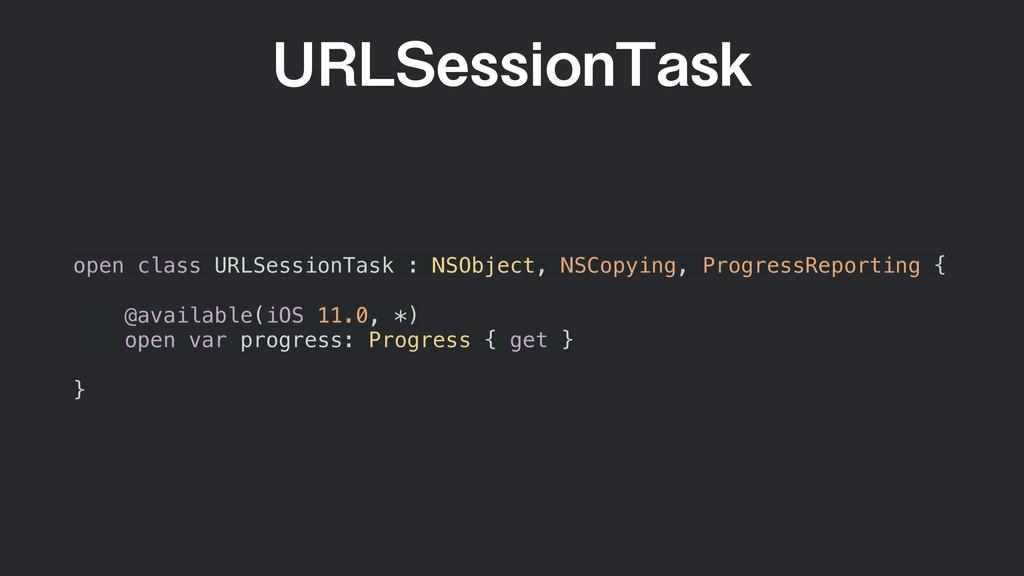 63-4FTTJPO5BTL open class URLSessionTask : NSOb...