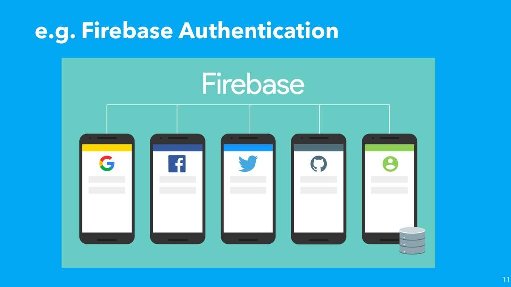 e.g. Firebase Authentication