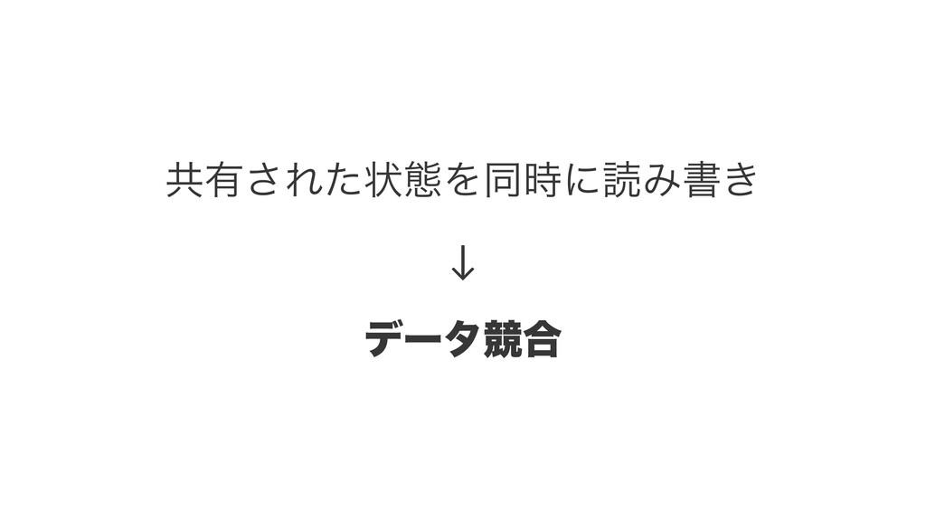 ڞ༗͞Εͨঢ়ଶΛಉʹಡΈॻ͖ ↓ σʔλڝ߹