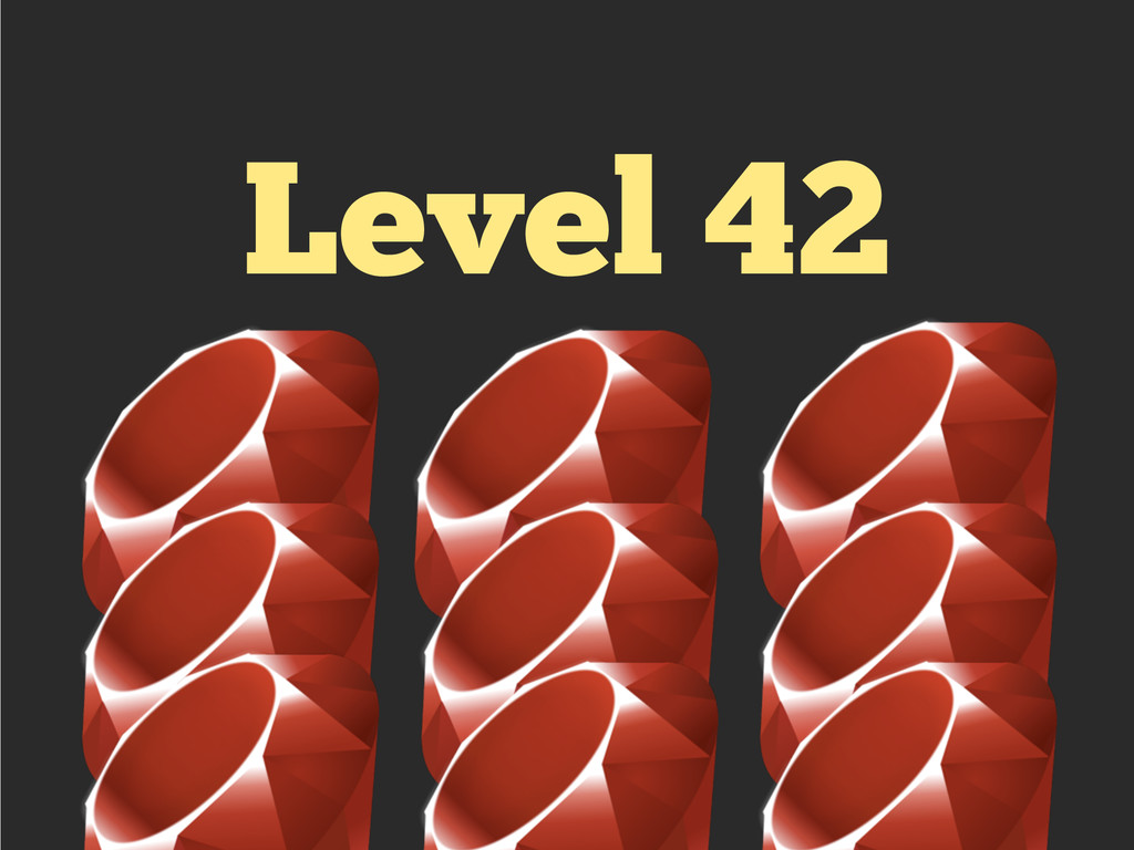 Level 42 !