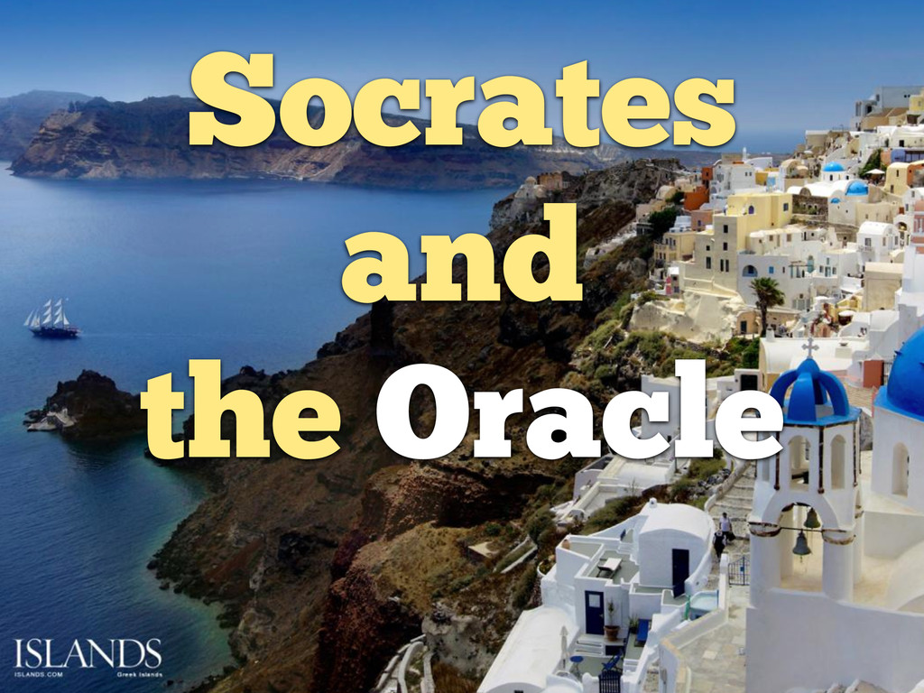 Socrates and the Oracle
