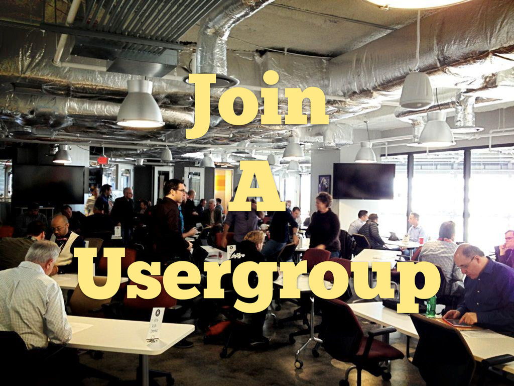 Join A Usergroup
