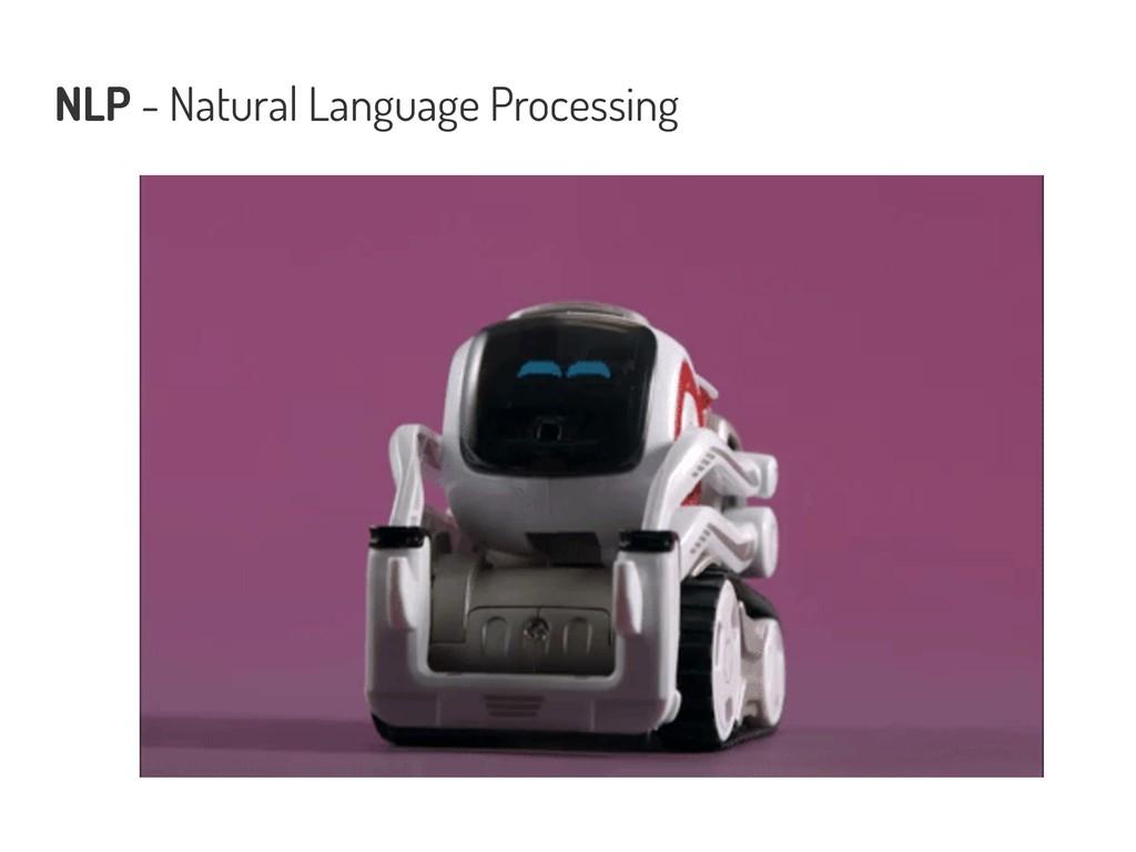 NLP - Natural Language Processing