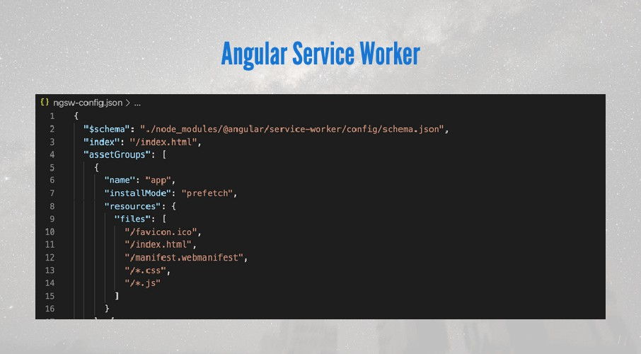 Angular Service Worker
