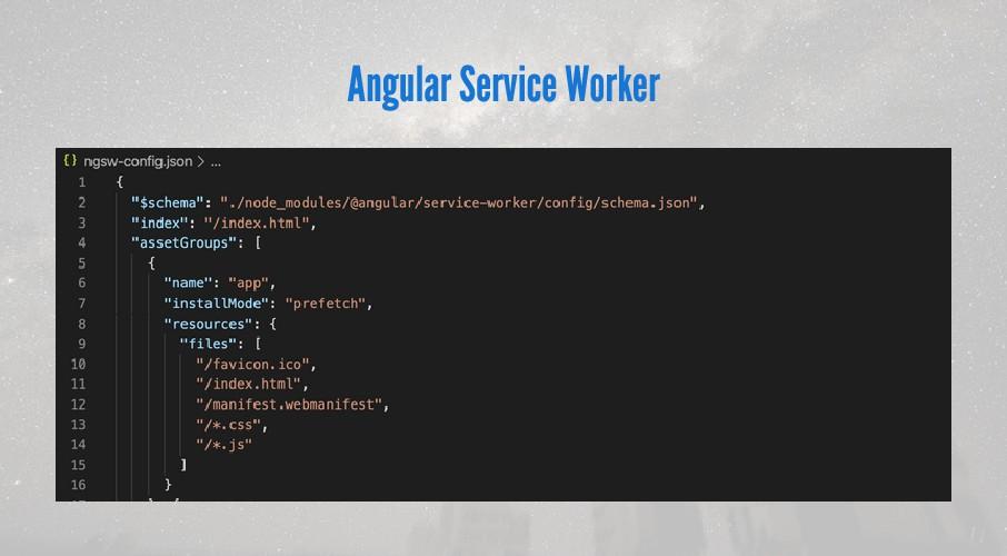 Angular Service Worker