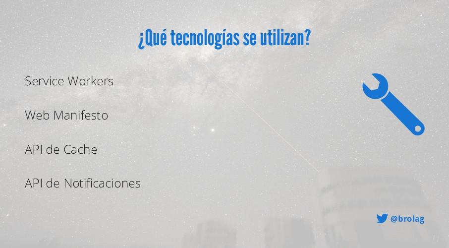 @brolag ¿Qué tecnologías se utilizan? Service W...