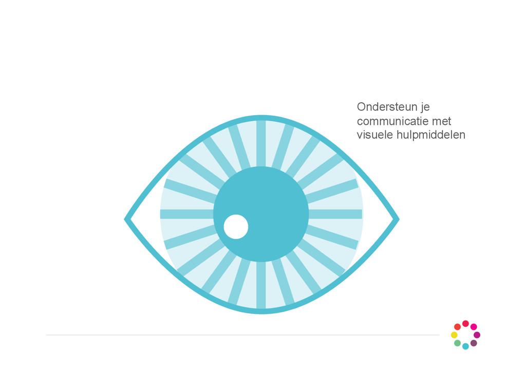Ondersteun je communicatie met visuele hulpmidd...