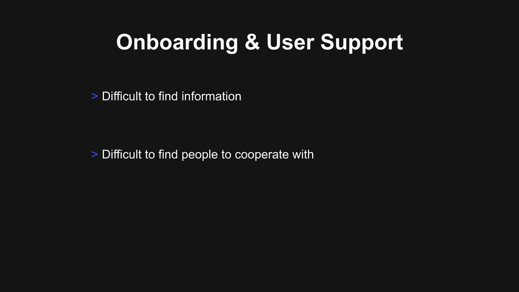 Onboarding & User Support > Difficult to find p...