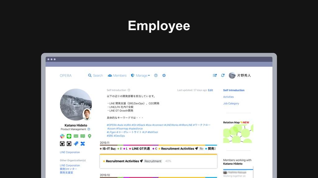 Ƃ Employee