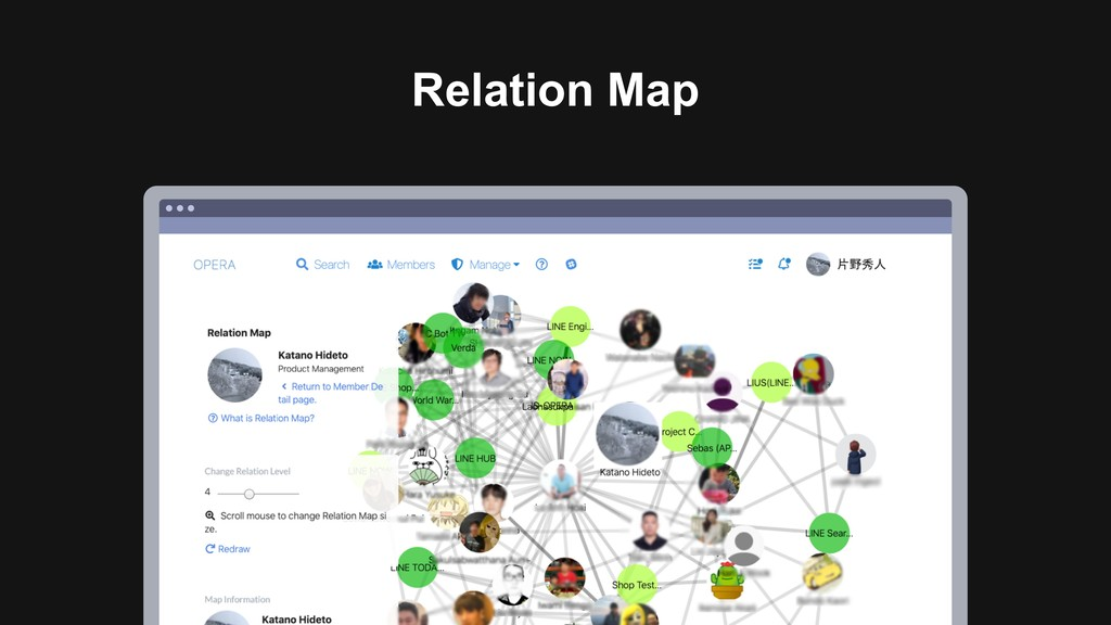 Ƃ Relation Map