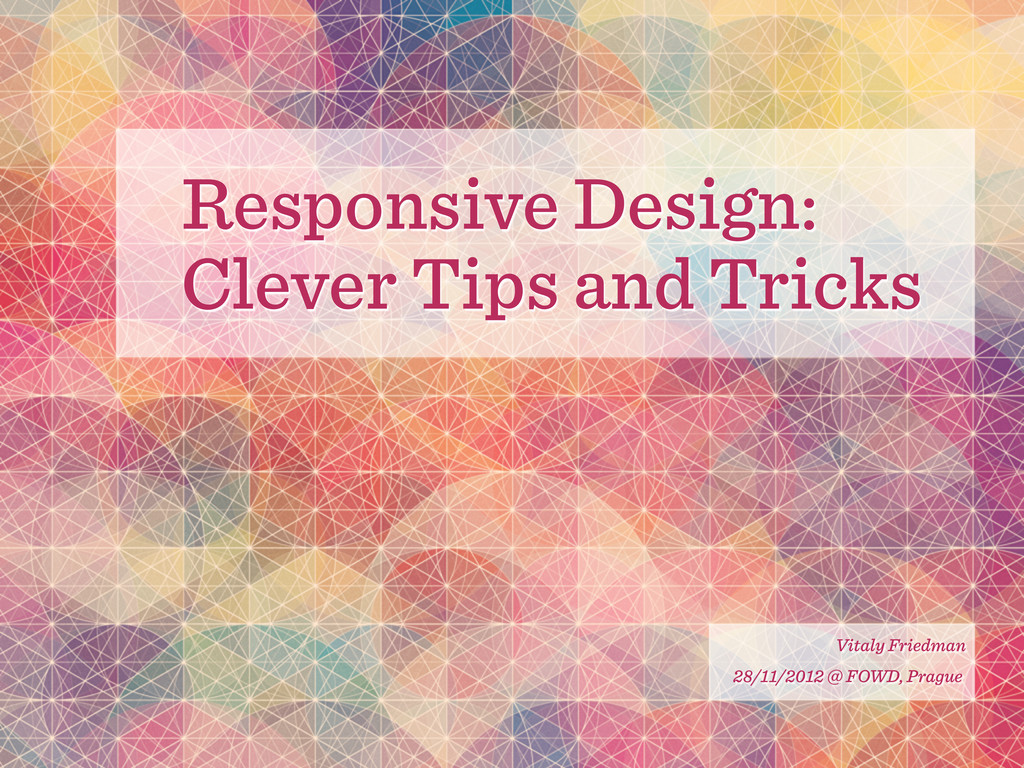 Responsive Design: Clever Tips and Tricks Vital...