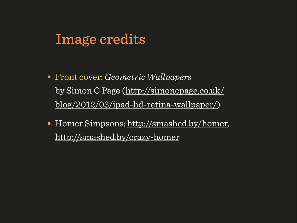 Image credits • Front cover: Geometric Wallpape...
