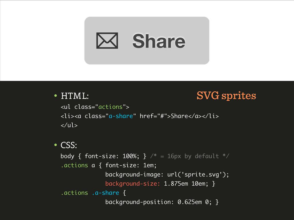 """• HTML: <ul class=""""actions""""> <li><a class=""""a-sh..."""
