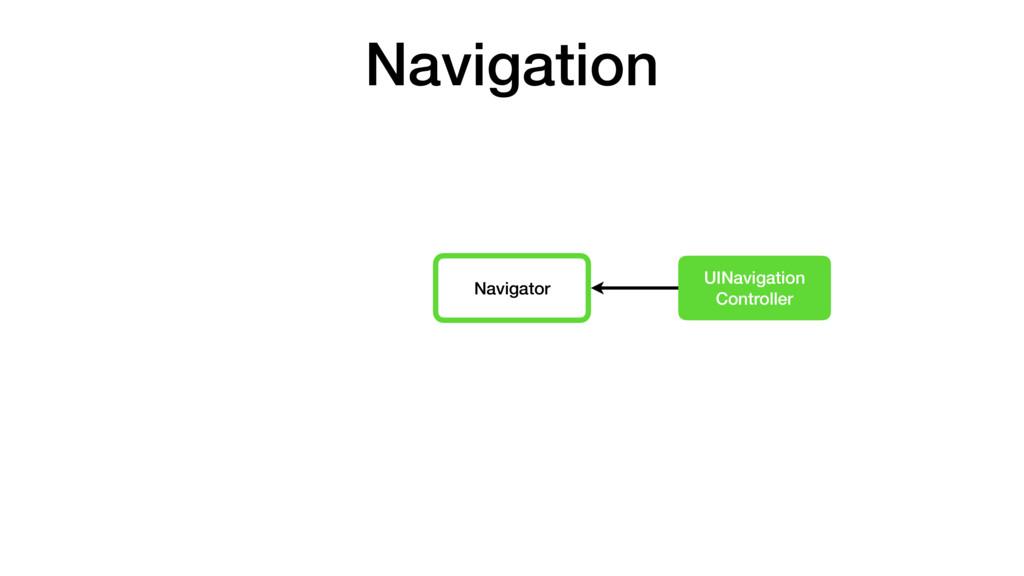 Navigator UINavigation Controller Navigation