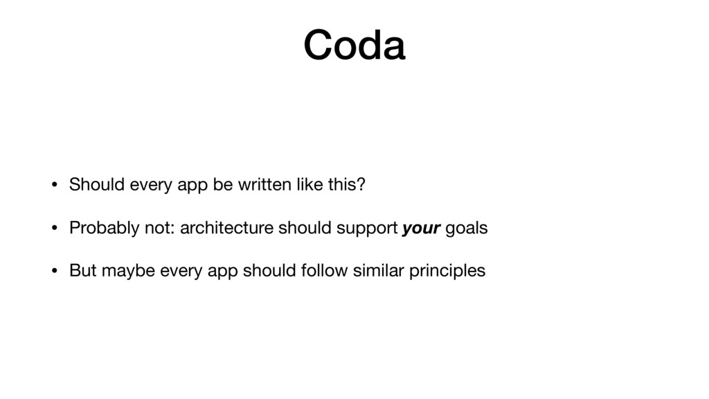 Coda • Should every app be written like this?  ...
