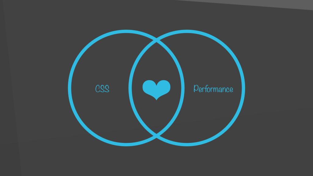 CSS Performance ❤