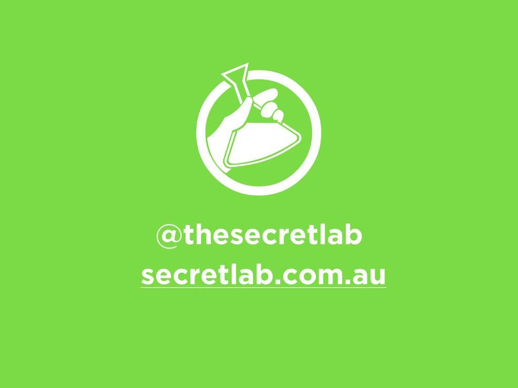 @thesecretlab secretlab.com.au