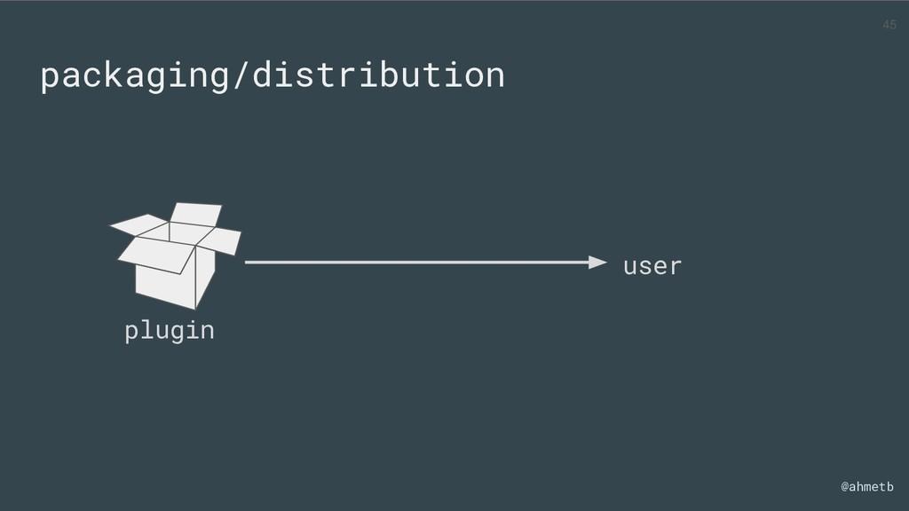 @ahmetb packaging/distribution user plugin 45