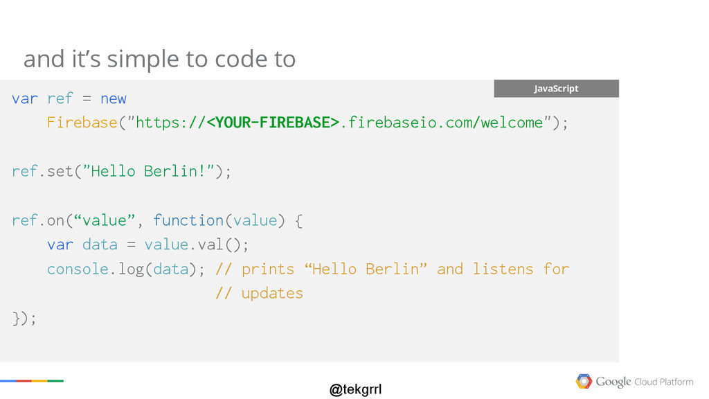 @tekgrrl and it's simple to code to Subtitle Ja...