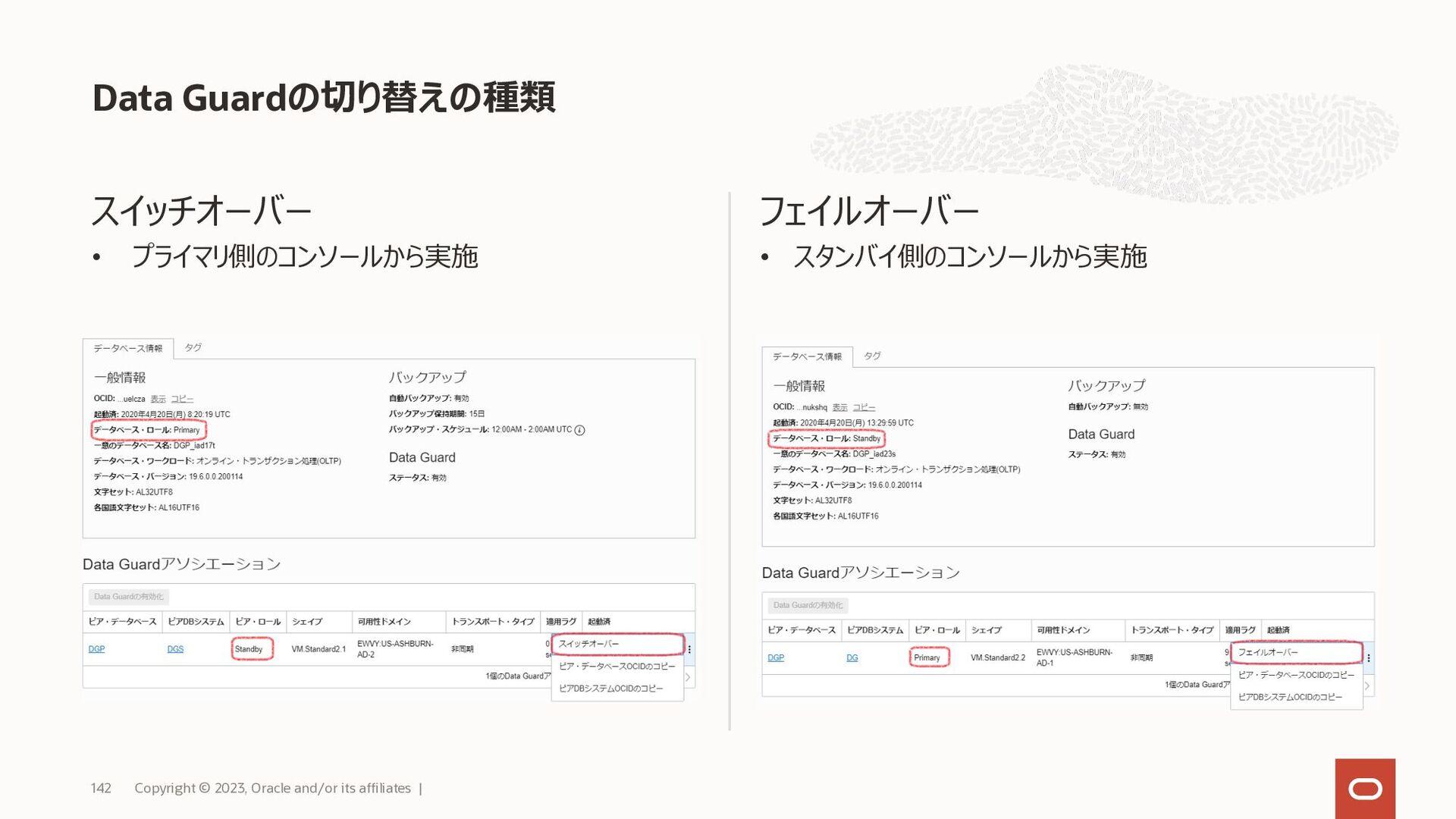 参考:機能概要 Copyright © 2021, Oracle and/or its aff...