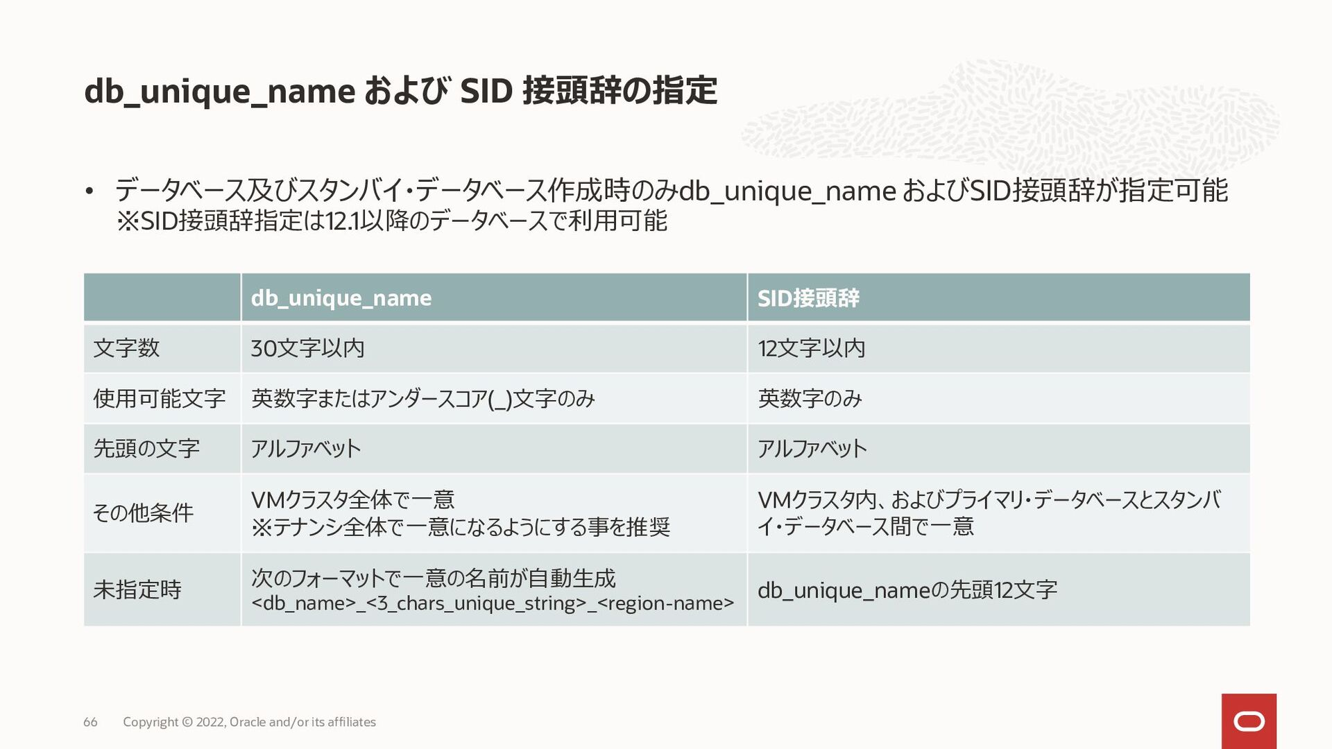 64 Copyright © 2020, Oracle and/or its affiliat...