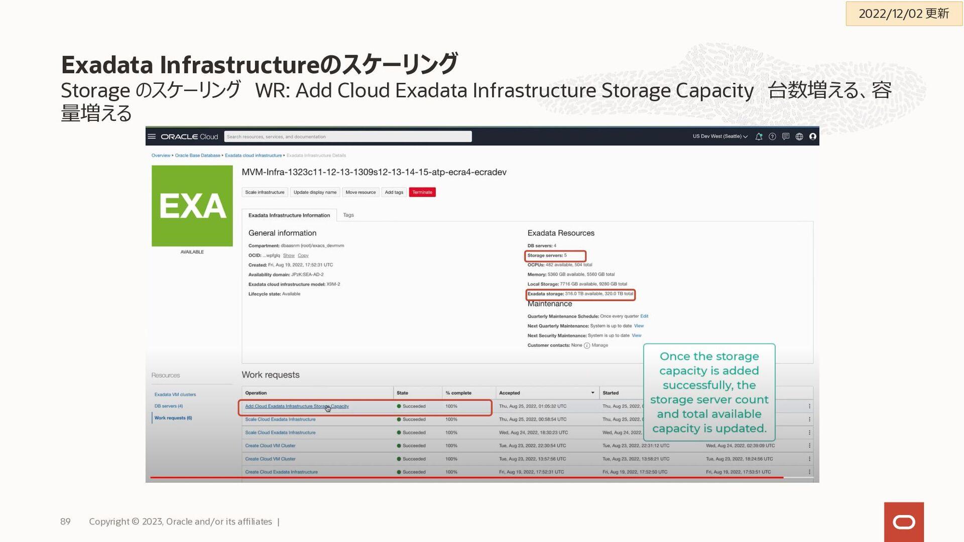 レプリカDBをData Guardで構成することのメリット Exadata Cloud Ser...