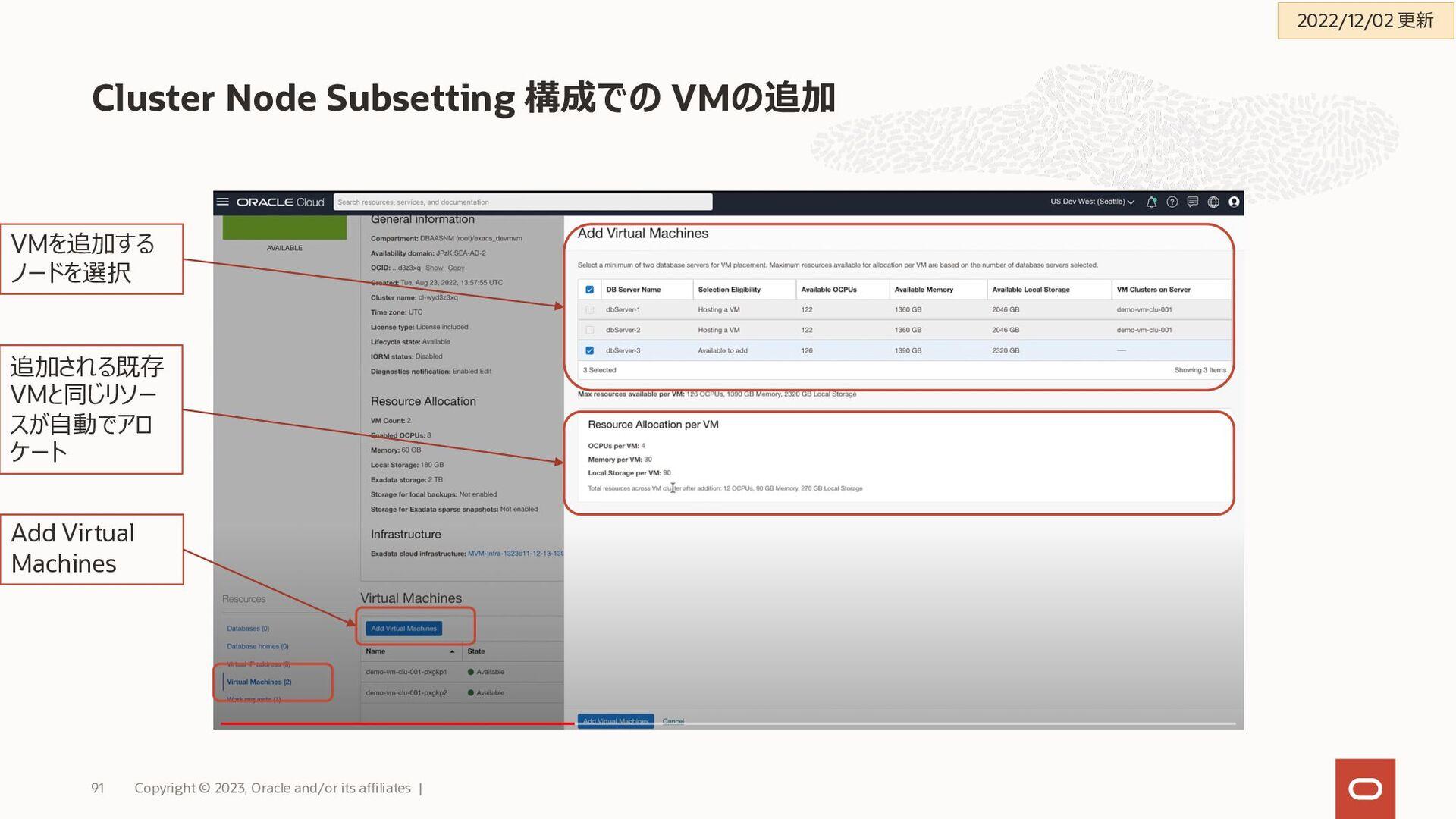 DBCS/ExaCSでData Guard 構成を検討する際に確認すること Copyright...