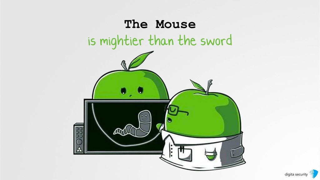 digita security The Mouse is mightier than the ...