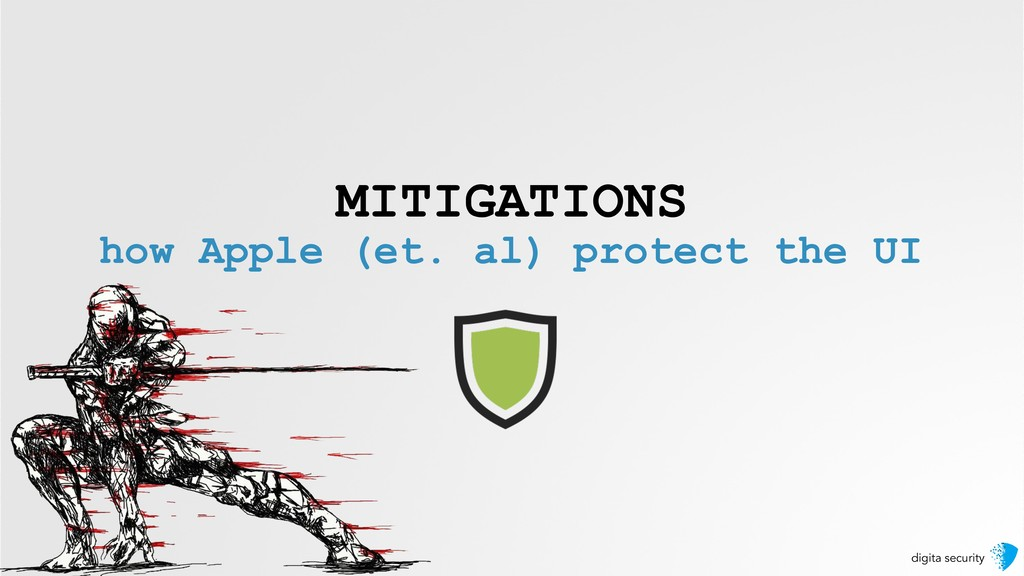 digita security MITIGATIONS how Apple (et. al) ...