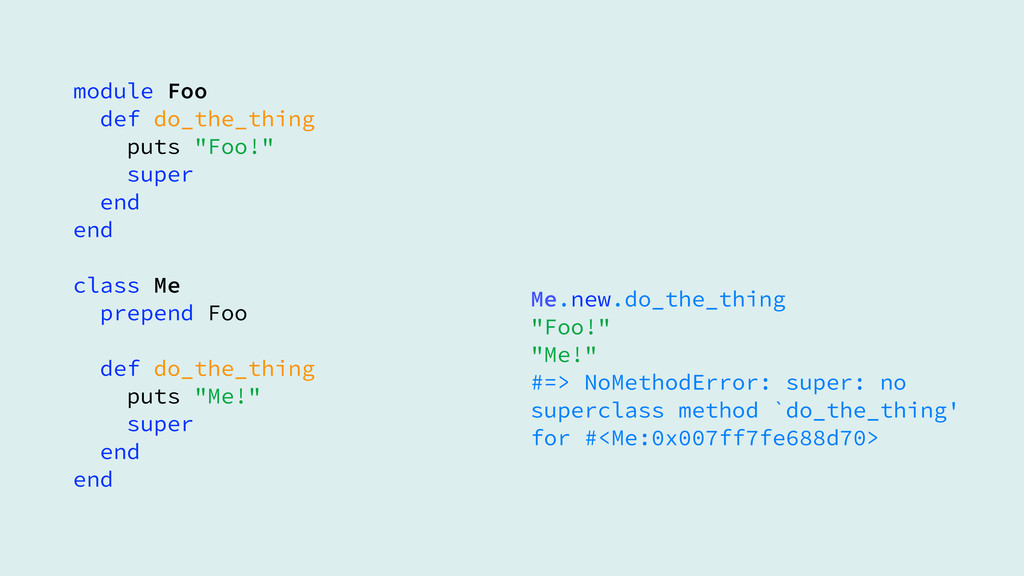 module Foo