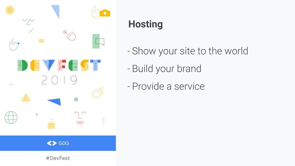Hosting - Show your site to the world - Build y...