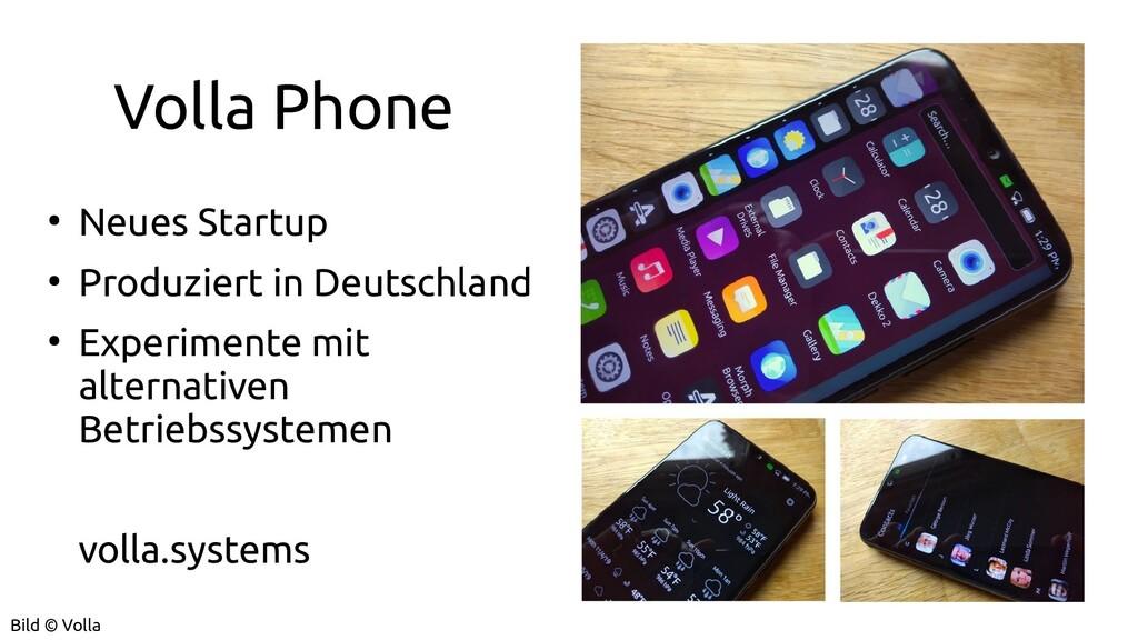 Volla Phone ● Neues Startup ● Produziert in Deu...