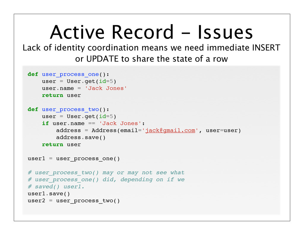 Lack of identity coordination means we need imm...
