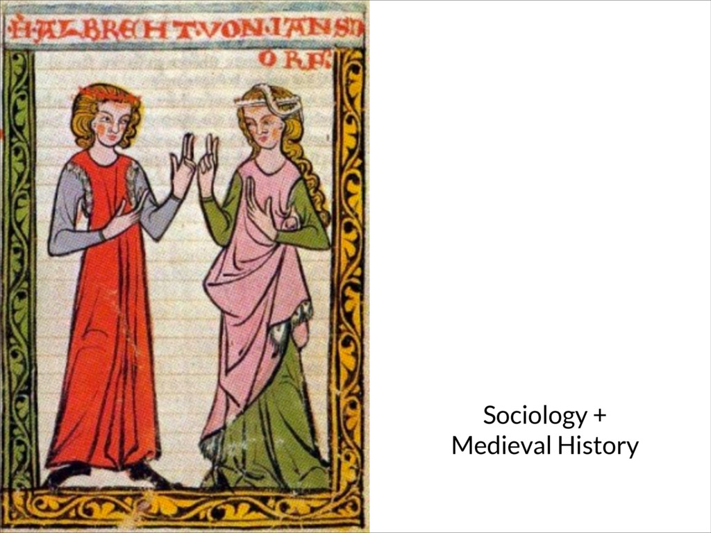 Sociology + Medieval History