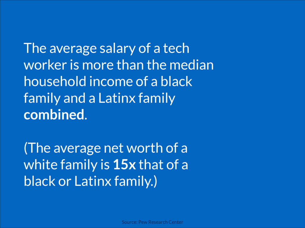 The average salary of a tech worker is more tha...