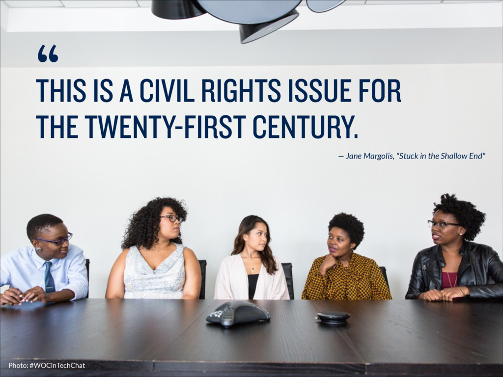 THIS IS A CIVIL RIGHTS ISSUE FOR THE TWENTY-FIR...