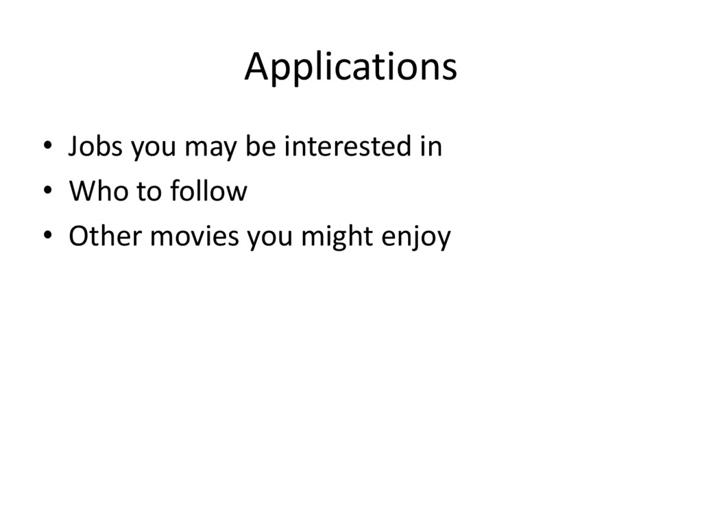 Applications • Jobs you may be interested in • ...