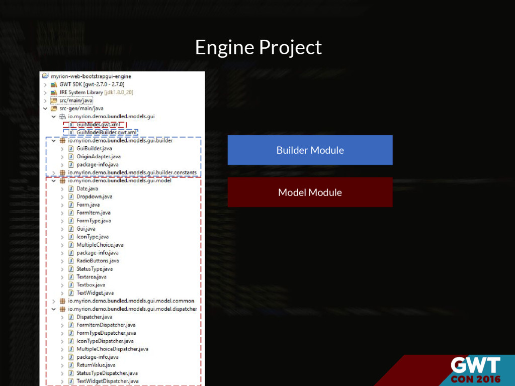 Engine Project Model Module Builder Module
