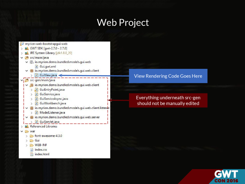 Web Project View Rendering Code Goes Here Every...
