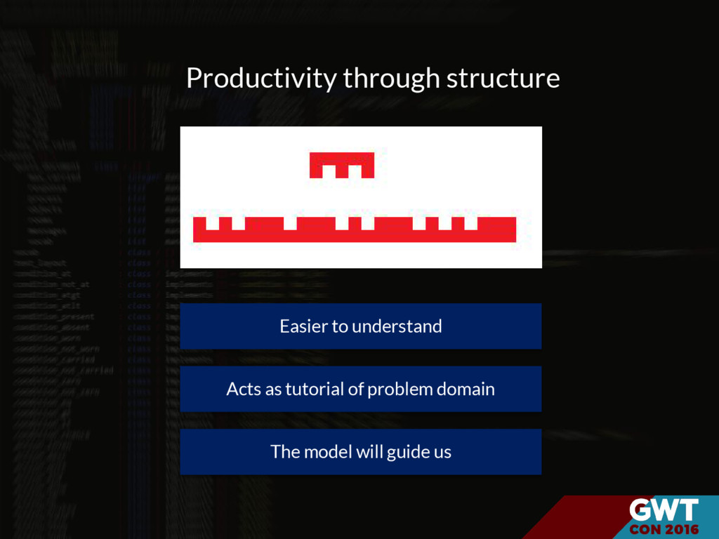 Easier to understand Productivity through struc...