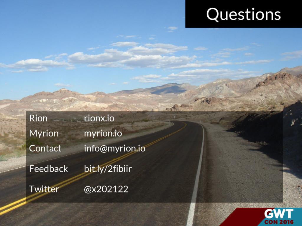 Rion rionx.io Myrion myrion.io Contact info@myr...