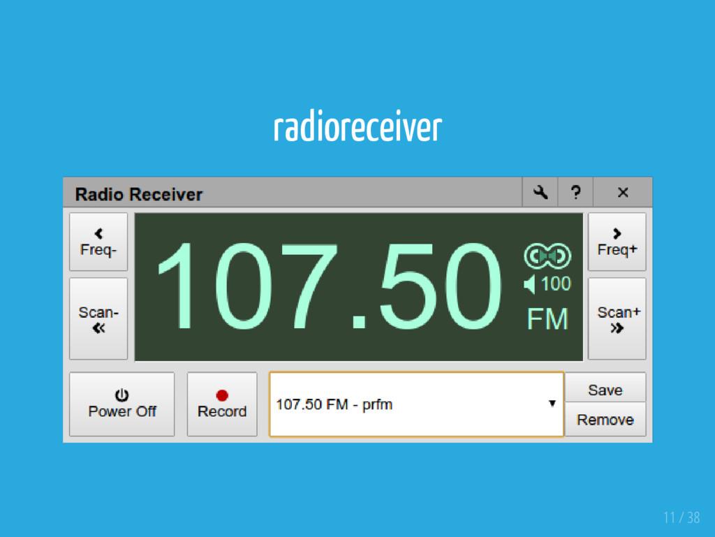 radioreceiver 11 / 38