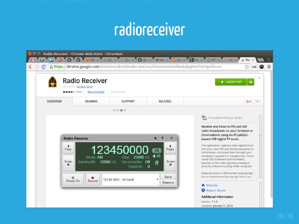 radioreceiver 10 / 38