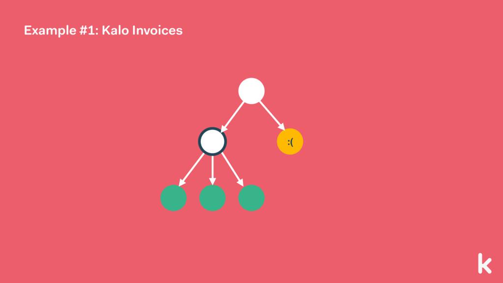 :( Example #1: Kalo Invoices