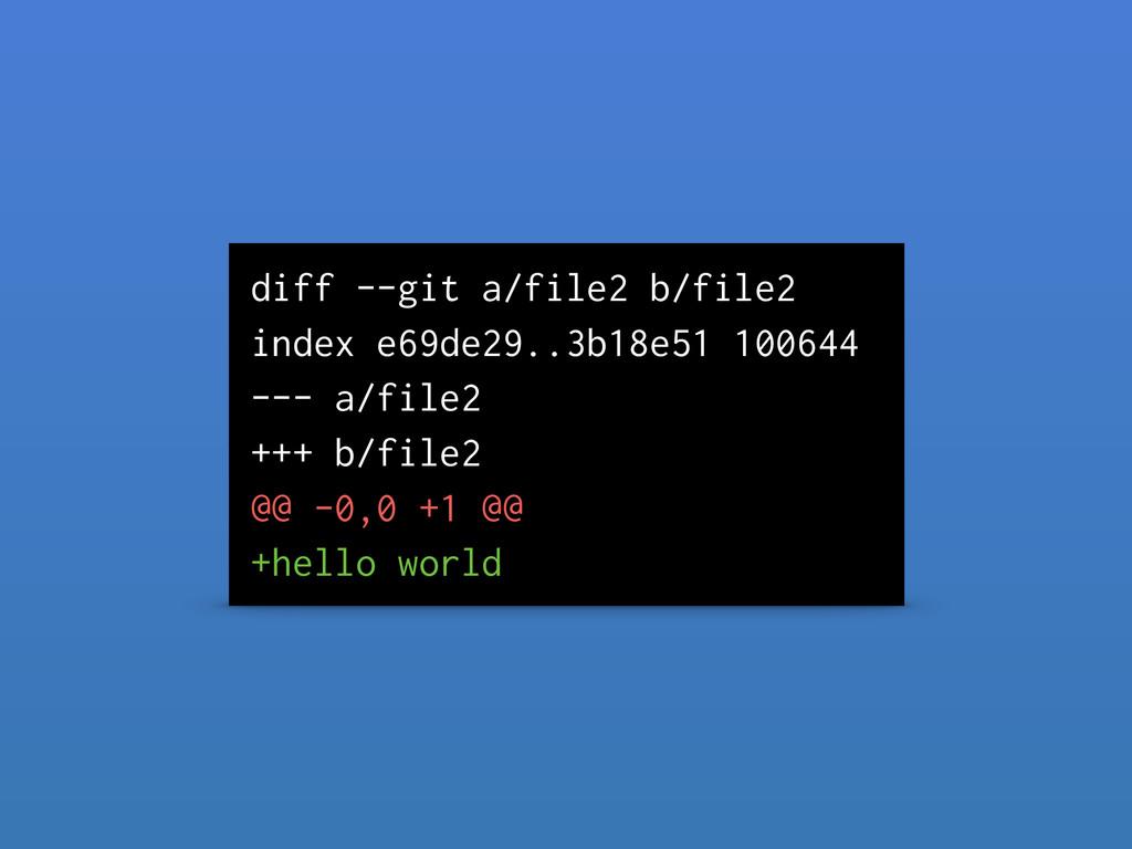 diff --git a/file2 b/file2 index e69de29..3b18e...