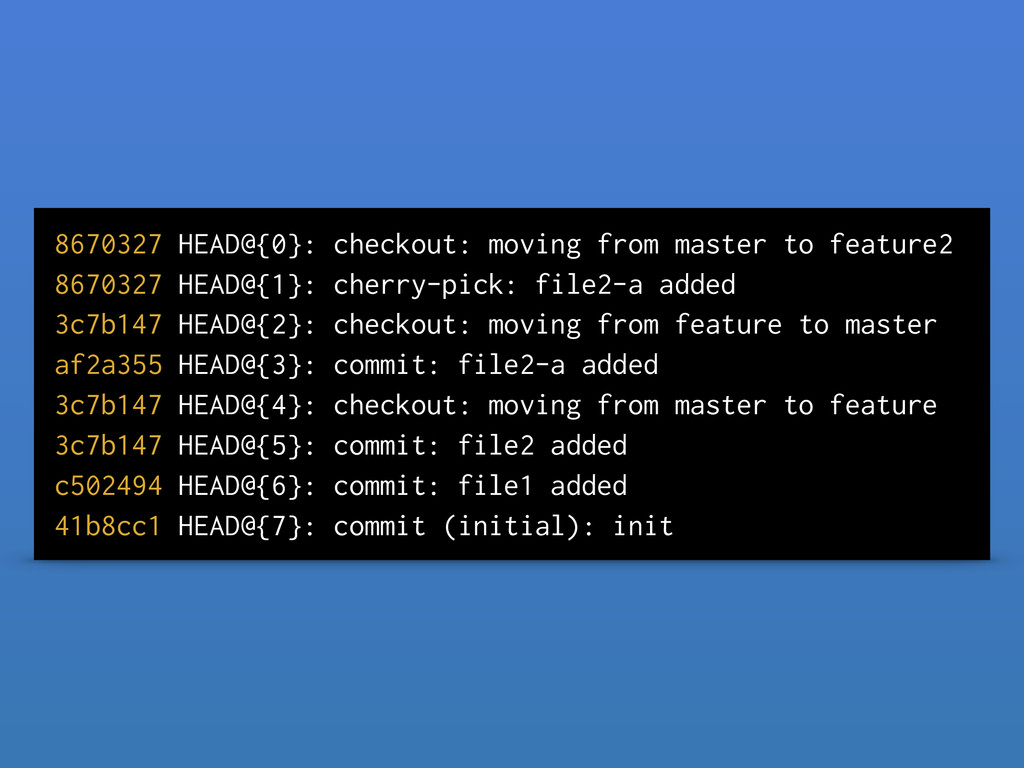8670327 HEAD@{0}: checkout: moving from master ...