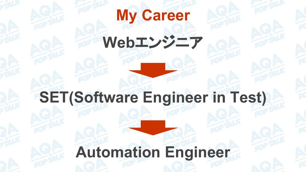 My Career Webエンジニア SET(Software Engineer in Tes...