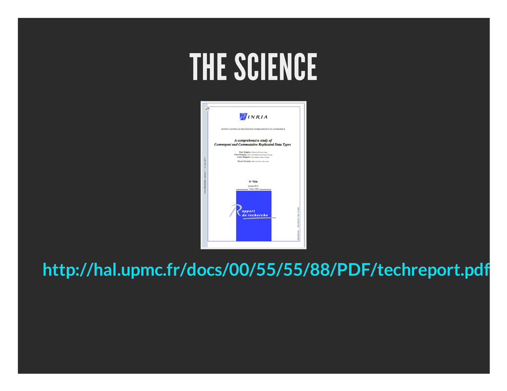 THE SCIENCE http://hal.upmc.fr/docs/00/55/55/88...